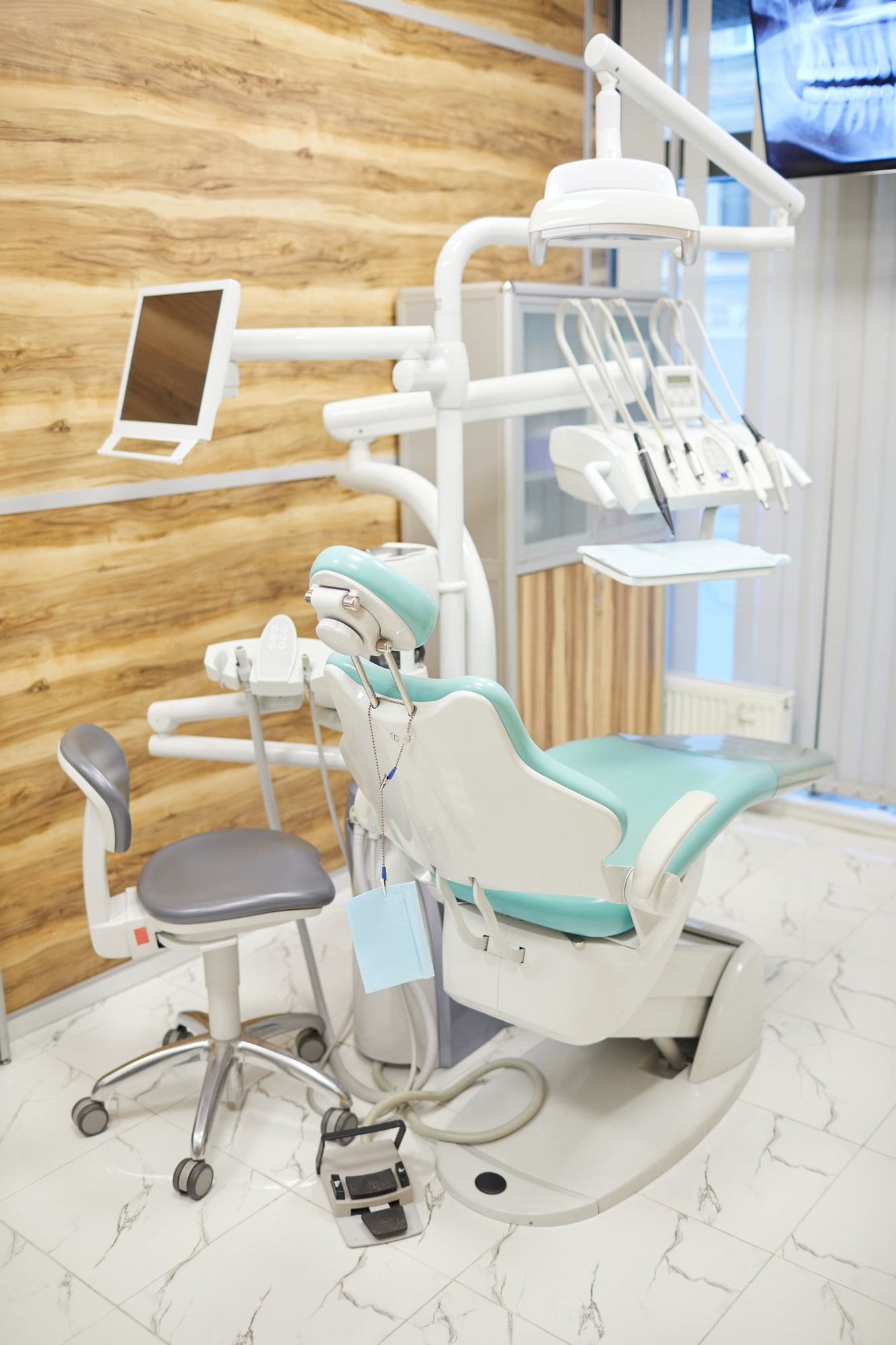 Workplace of dentist